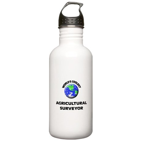 World's Coolest Agricultural Surveyor Water Bottle