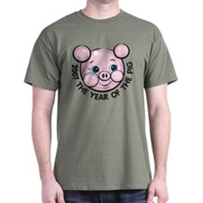 2007 Year of the Pig T-Shirt