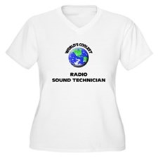 World's Coolest Radio Sound Technician Plus Size T