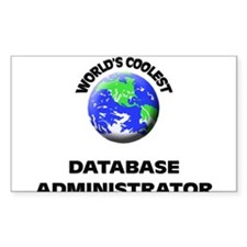 World's Coolest Database Administrator Decal
