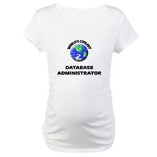 World's Coolest Database Administrator Shirt