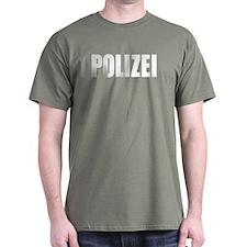 German Police Polizei T-Shirt