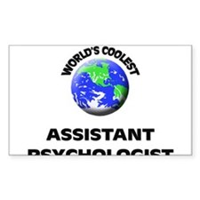 World's Coolest Assistant Psychologist Decal