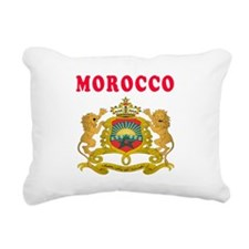 Morocco Coat Of Arms Designs Rectangular Canvas Pi
