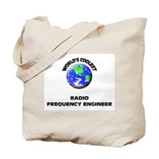 World's Coolest Radio Frequency Engineer Tote Bag