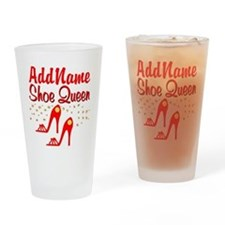 WILD RED SHOES Drinking Glass