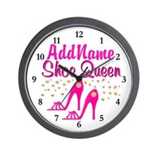 SEXY PINK SHOES Wall Clock