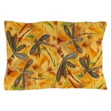 Dragonfly Flit Warm Breeze Pillow Case