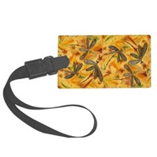 Dragonfly Flit Warm Breeze Luggage Tag