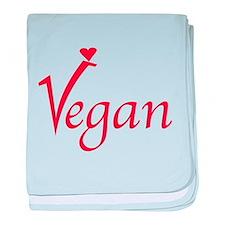 Vegan baby blanket