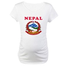 Nepal Coat Of Arms Designs Shirt
