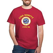 USS Nimitz CVN 68 T-Shirt