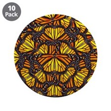 "Effie's Butterflies 3.5"" Button (10 pack)"