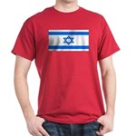 Israel Jewish Flag Red T-Shirt