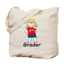 Third Grade Girls Tote Bag