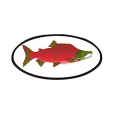 Sockeye Kokanee Salmon male f Patches