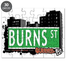 BURNS STREET, QUEENS, NYC Puzzle