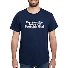 Everyone Loves a Scottish Gir T-Shirt
