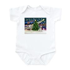 Xmas Magic & Wire Fox T3 Infant Bodysuit