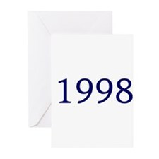 1998 Greeting Cards (Pk of 10)