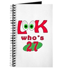Look who's 27 ? Journal