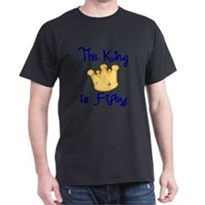 THE KING IS FIFTY T-Shirt