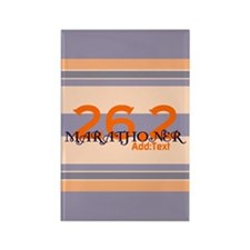 Marathoner Personal Best Rectangle Magnet