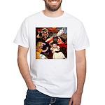Kirk 5 White T-Shirt
