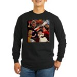 Kirk 5 Long Sleeve Dark T-Shirt