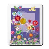 Shirley's Flowers Mousepad