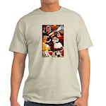 Kirk 5 Ash Grey T-Shirt