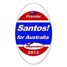 Santos for PM! Decal