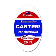 Carter for PM! Wall Decal Sticker