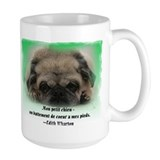 chiot de roquet 2-sided Tasse