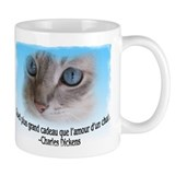 le chaton de Dickens Tasse (2-sided)