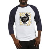 Black dodo Baseball Jersey