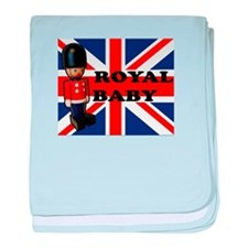 Royal Baby Soldier baby blanket