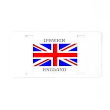 Ipswich England Aluminum License Plate
