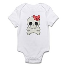 Skull Sweetie Infant Toddler Romper.