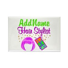 FIERCE STYLIST Rectangle Magnet