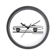 1964 Buick Skylark Convertible Wall Clock