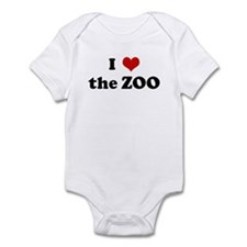 I Love the ZOO Infant Bodysuit