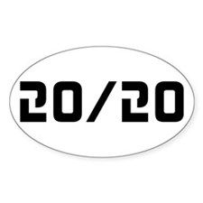 20/20 Vision Decal