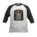 New York Corrections Kids Baseball Jersey