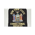 New York Corrections Rectangle Magnet (10 pack)