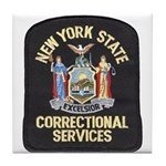 New York Corrections Tile Coaster
