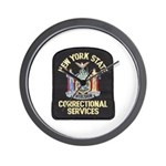 New York Corrections Wall Clock