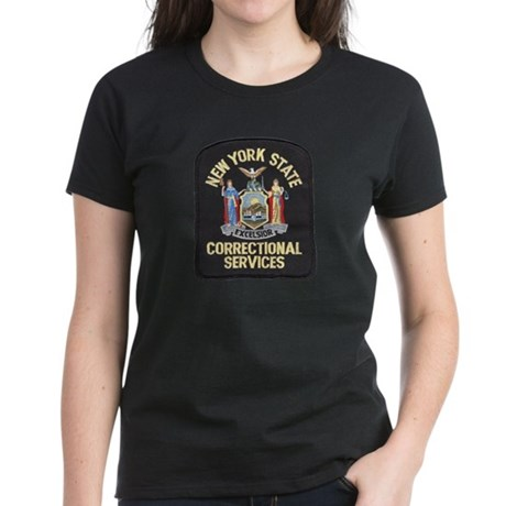 New York Corrections Women's Dark T-Shirt