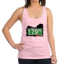 179 PLACE, QUEENS, NYC Racerback Tank Top