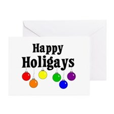 Happy Holigays Greeting Cards (Pk of 10)
